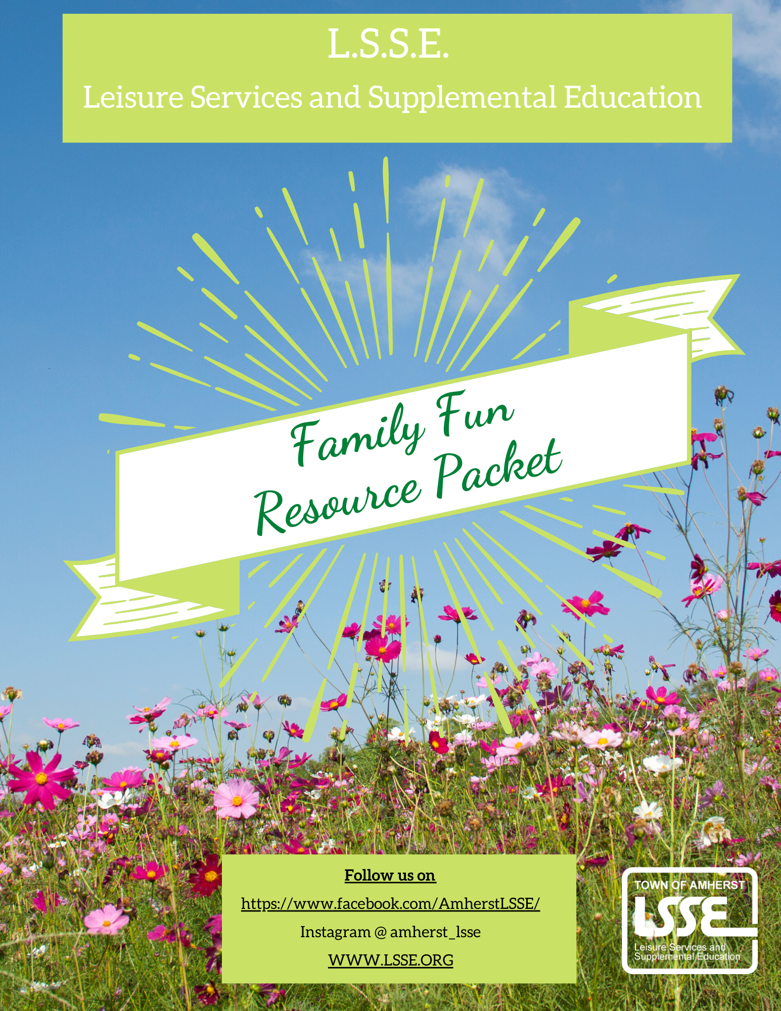 Family Fun Packet
